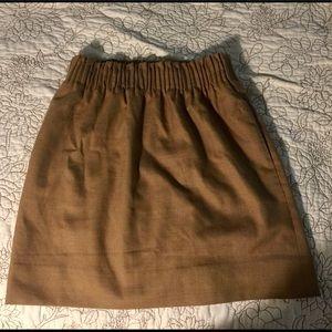 Jcrew Mini Wool Sidewalk Skirt